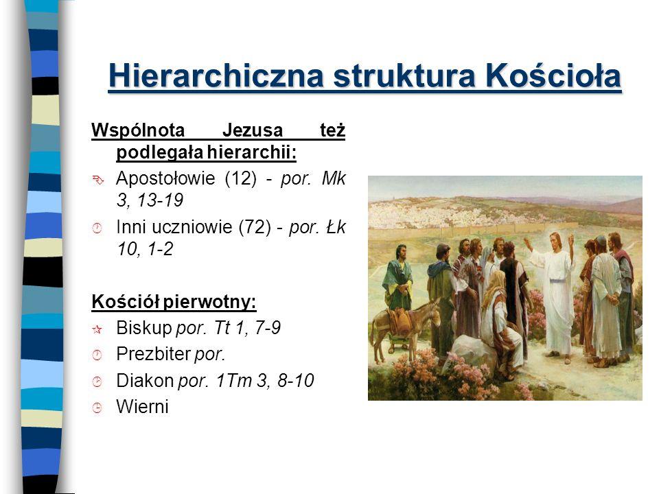 Hierarchiczna struktura Kościoła