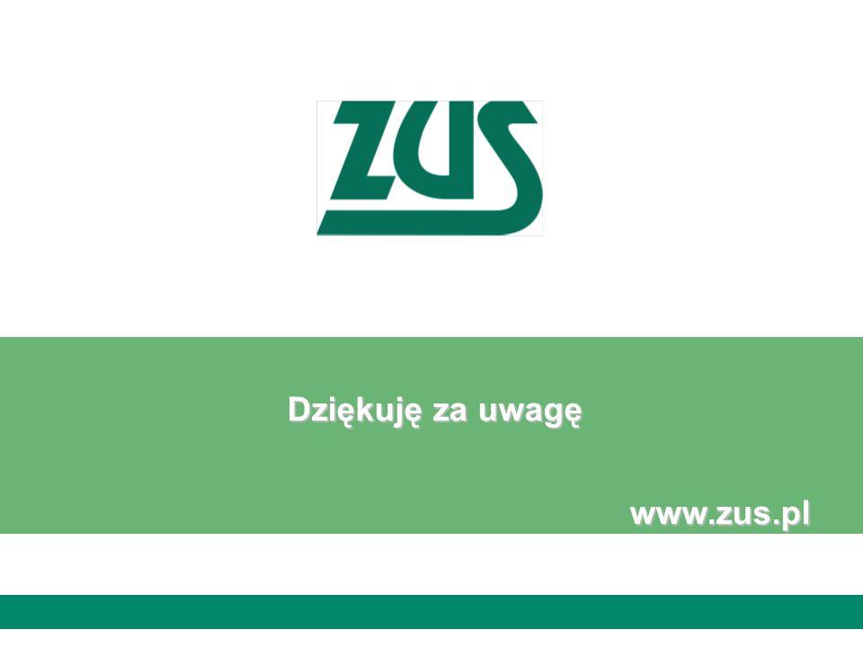 Dziękuję za uwagę www.zus.pl Radek