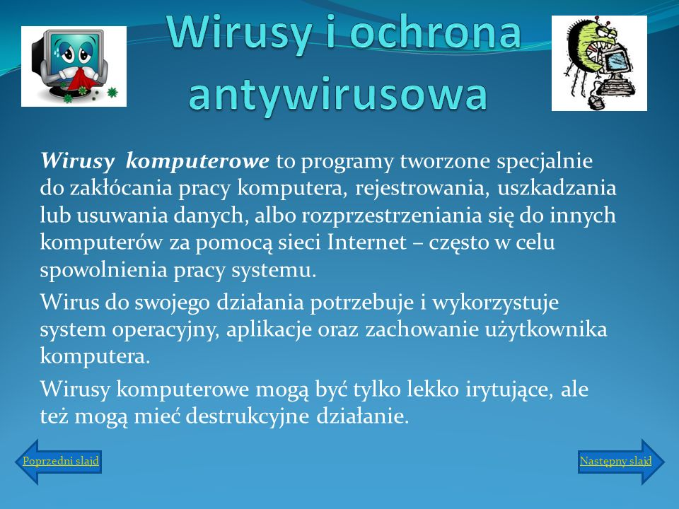 Wirusy i ochrona antywirusowa