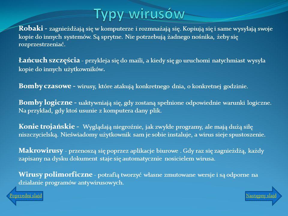 Typy wirusów