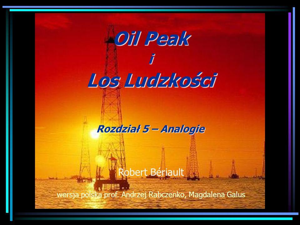 Oil Peak i Los Ludzkości Rozdział 5 – Analogie