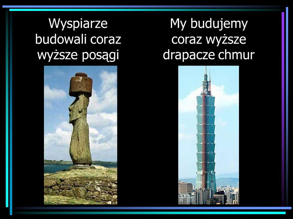 Wyspiarze budowali coraz wyższe posągi