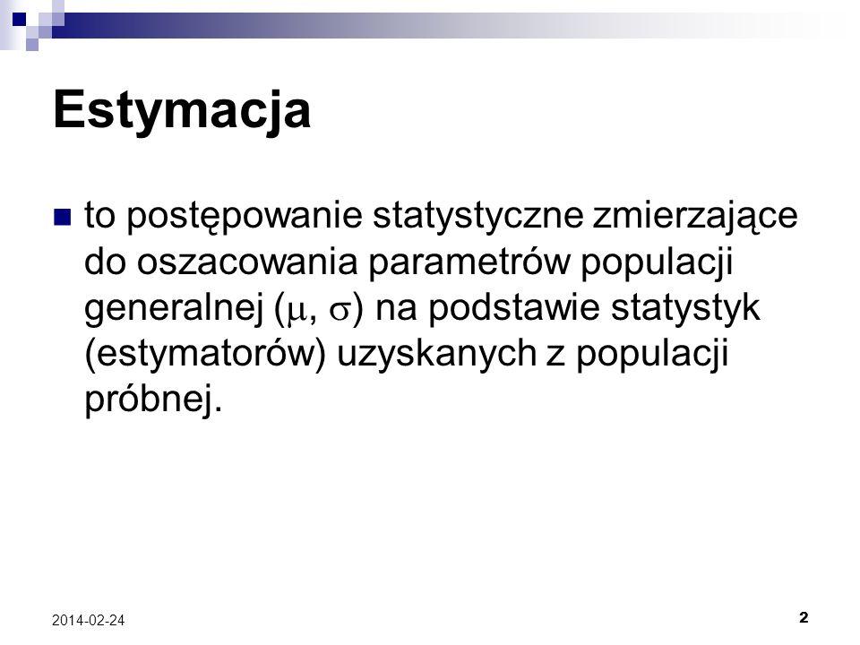Estymacja