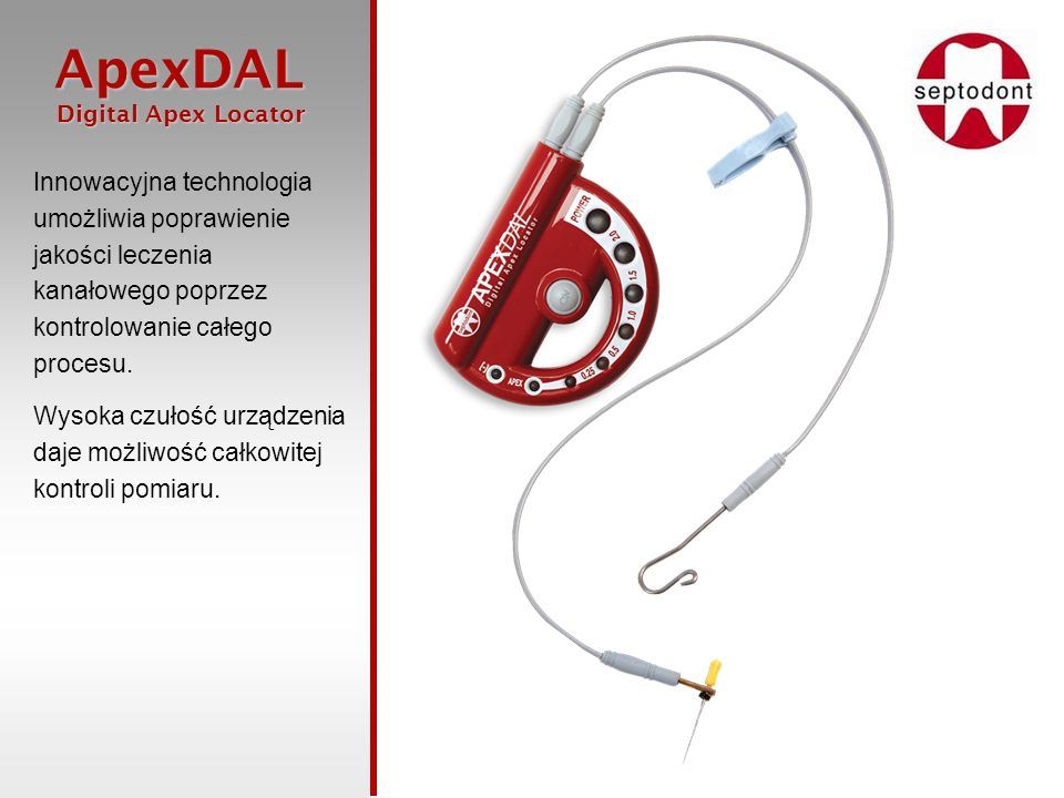 Innowacyjna technologia umożliwia poprawienie jakości leczenia kanałowego poprzez kontrolowanie całego procesu.