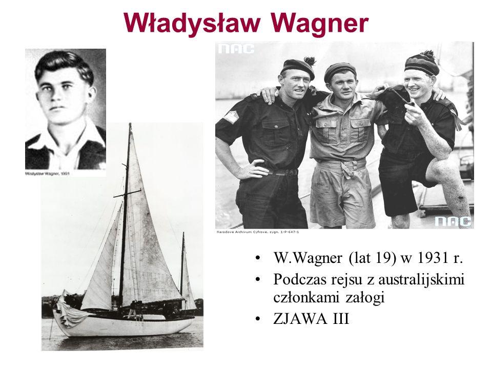 Władysław Wagner W.Wagner (lat 19) w 1931 r.