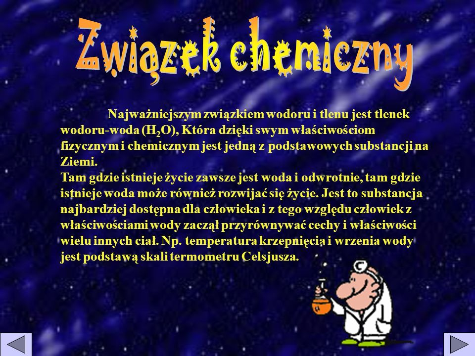 Zwiazek chemiczny ,