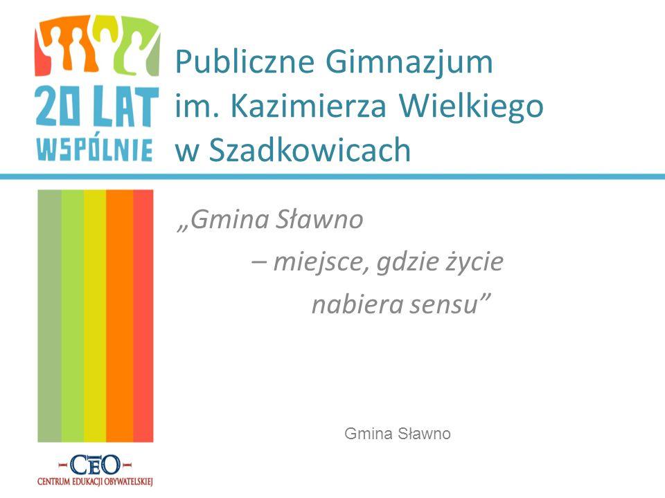 Publiczne Gimnazjum im. Kazimierza Wielkiego w Szadkowicach
