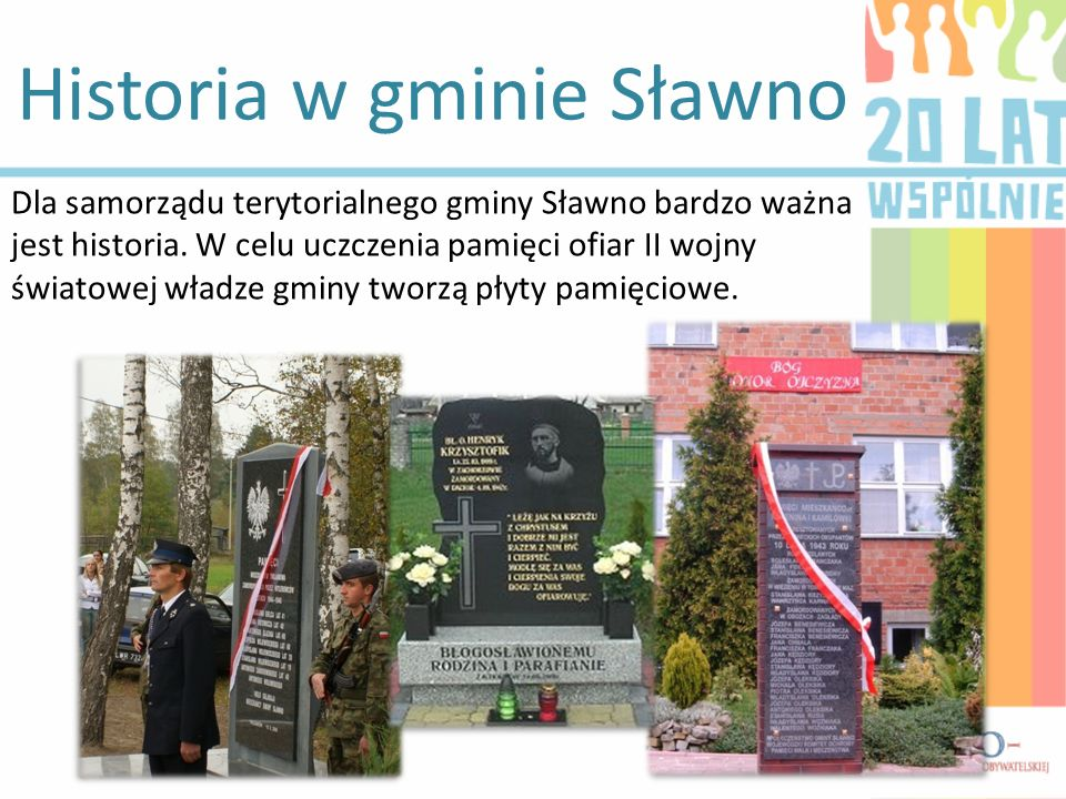 Historia w gminie Sławno
