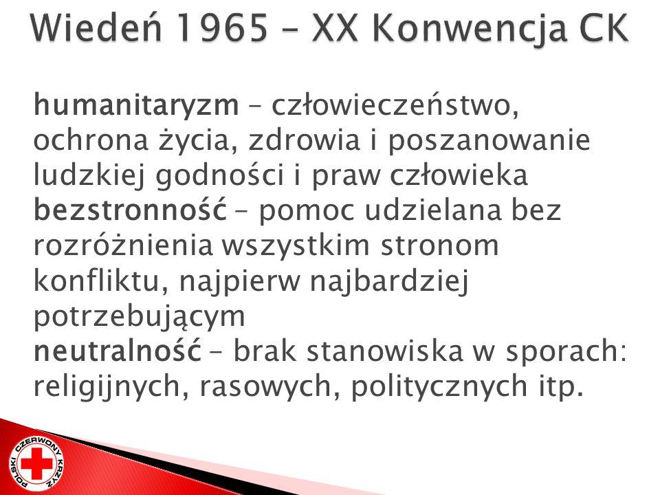 Wiedeń 1965 – XX Konwencja CK