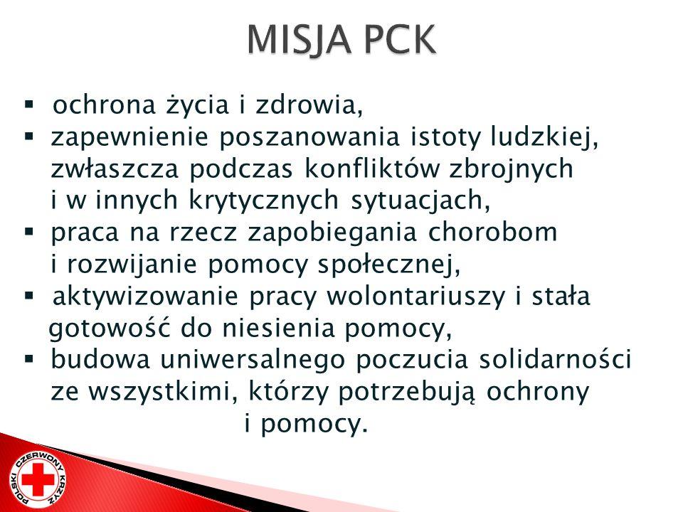 MISJA PCK ochrona życia i zdrowia,