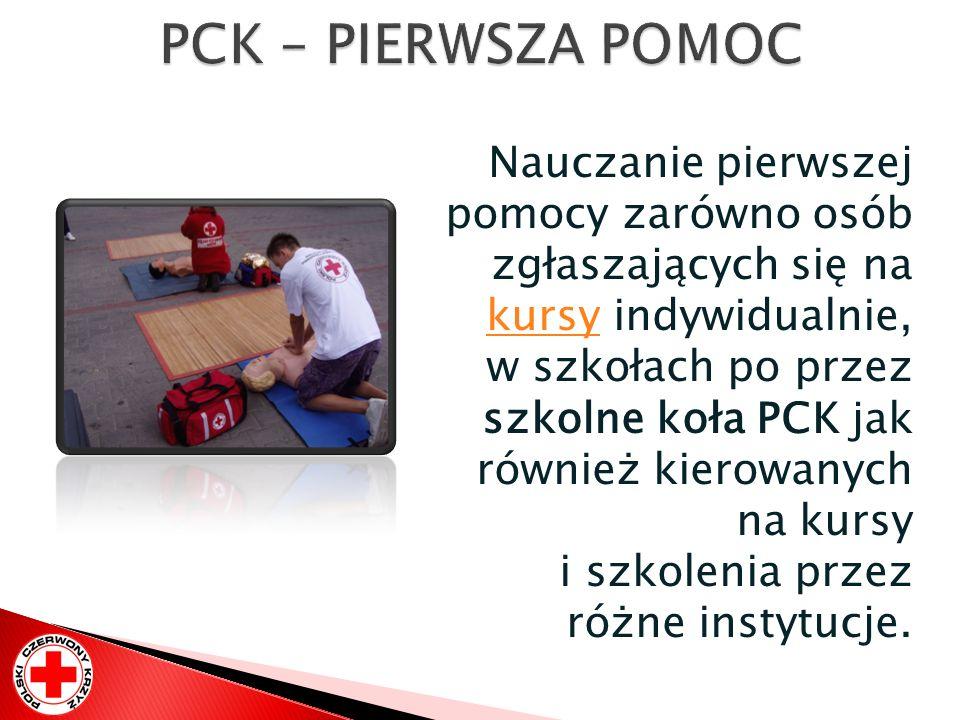 PCK – PIERWSZA POMOC