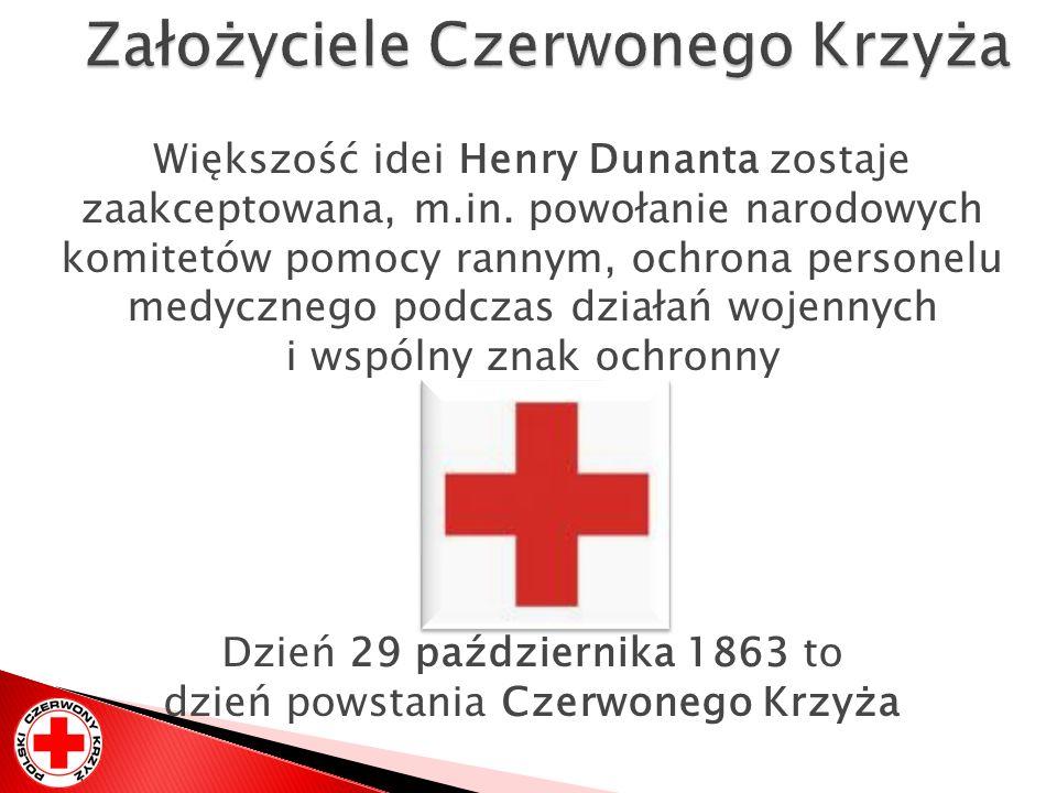 Założyciele Czerwonego Krzyża