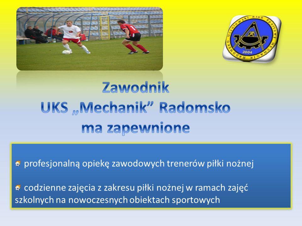 "UKS ""Mechanik Radomsko ma zapewnione"