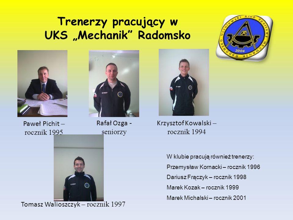 "UKS ""Mechanik Radomsko"