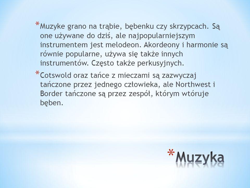 Muzyke grano na trąbie, bębenku czy skrzypcach