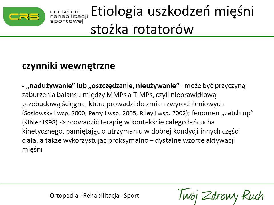 Ortopedia - Rehabilitacja - Sport