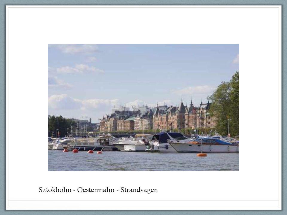 Sztokholm - Oestermalm - Strandvagen
