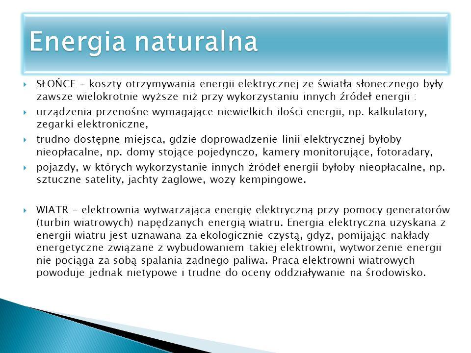Energia naturalna