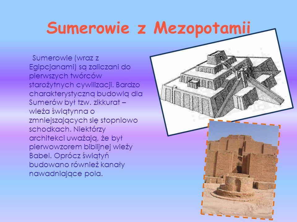 Sumerowie z Mezopotamii