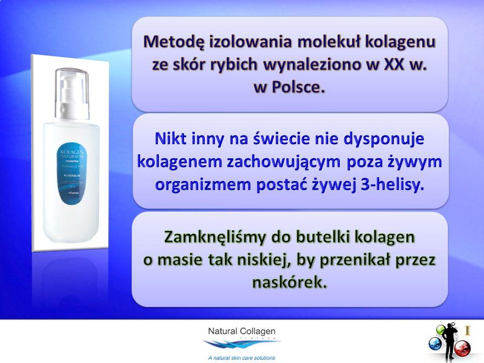 Metodę izolowania molekuł kolagenu ze skór rybich wynaleziono w XX w