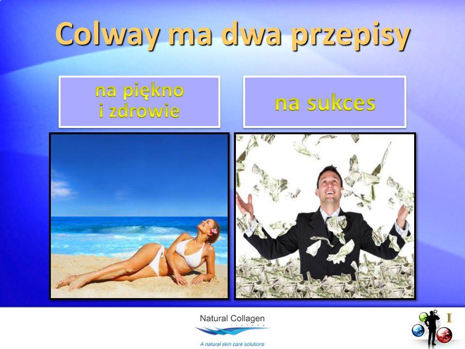 Colway ma dwa przepisy na piękno i zdrowie na sukces I