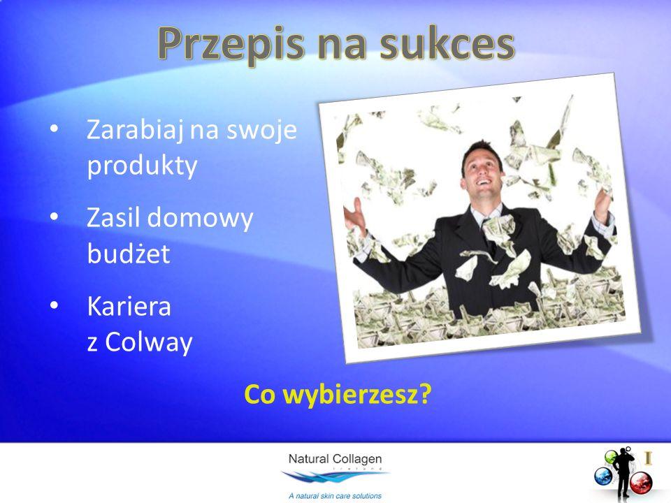 Przepis na sukces Zarabiaj na swoje produkty Zasil domowy budżet