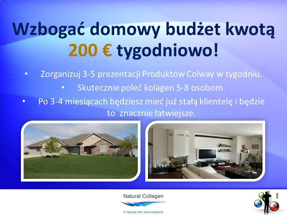 Wzbogać domowy budżet kwotą 200 € tygodniowo!