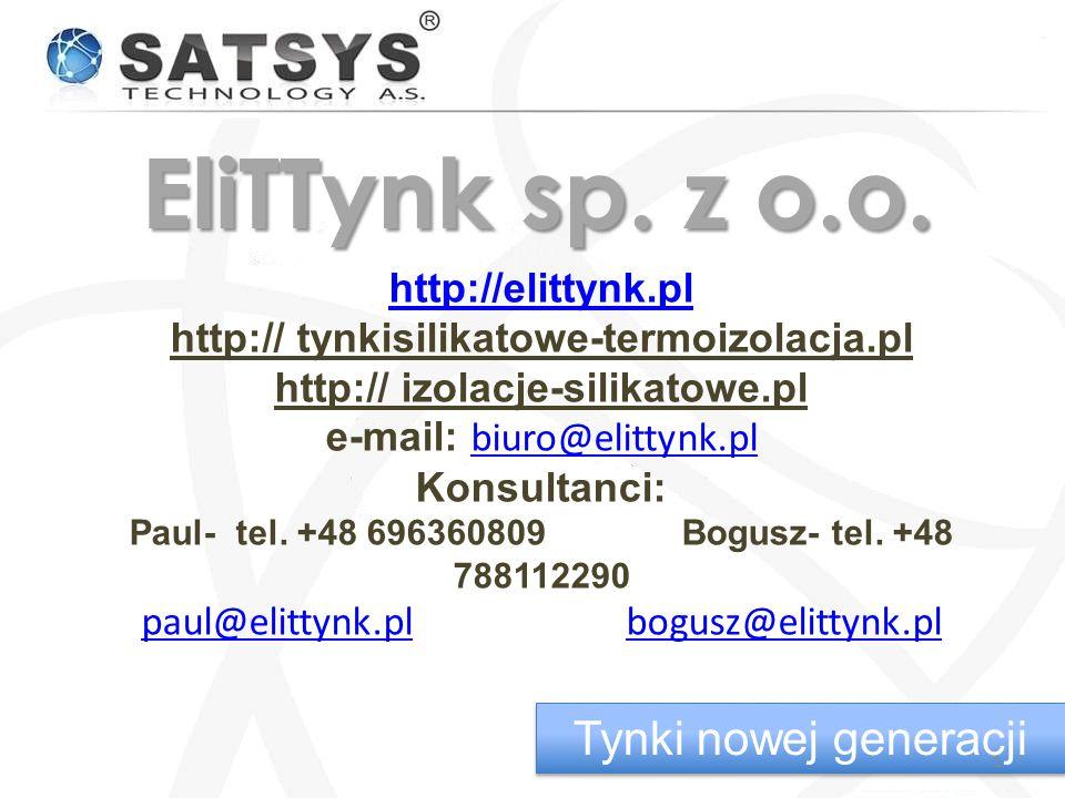 EliTTynk sp. z o.o. Tynki nowej generacji http://elittynk.pl