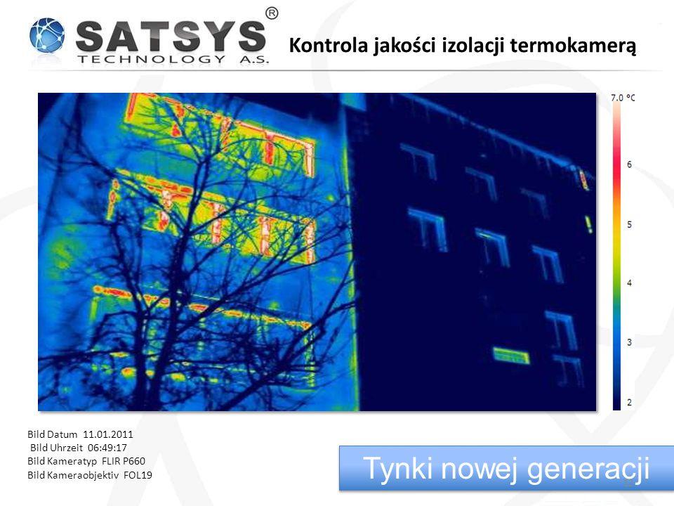 Tynki nowej generacji Kontrola jakości izolacji termokamerą