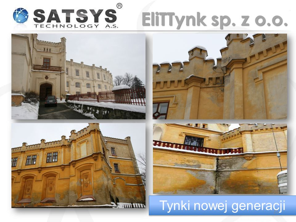 EliTTynk sp. z o.o. Tynki nowej generacji