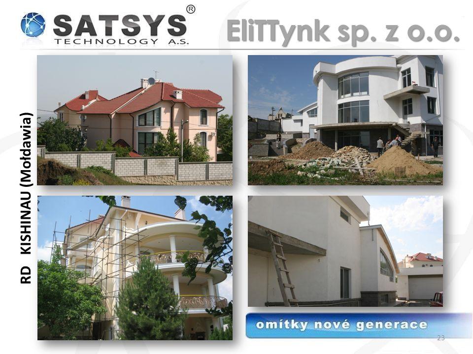 EliTTynk sp. z o.o. RD KISHINAU (Mołdawia)