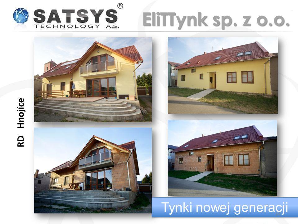 EliTTynk sp. z o.o. RD Hnojíce Tynki nowej generacji