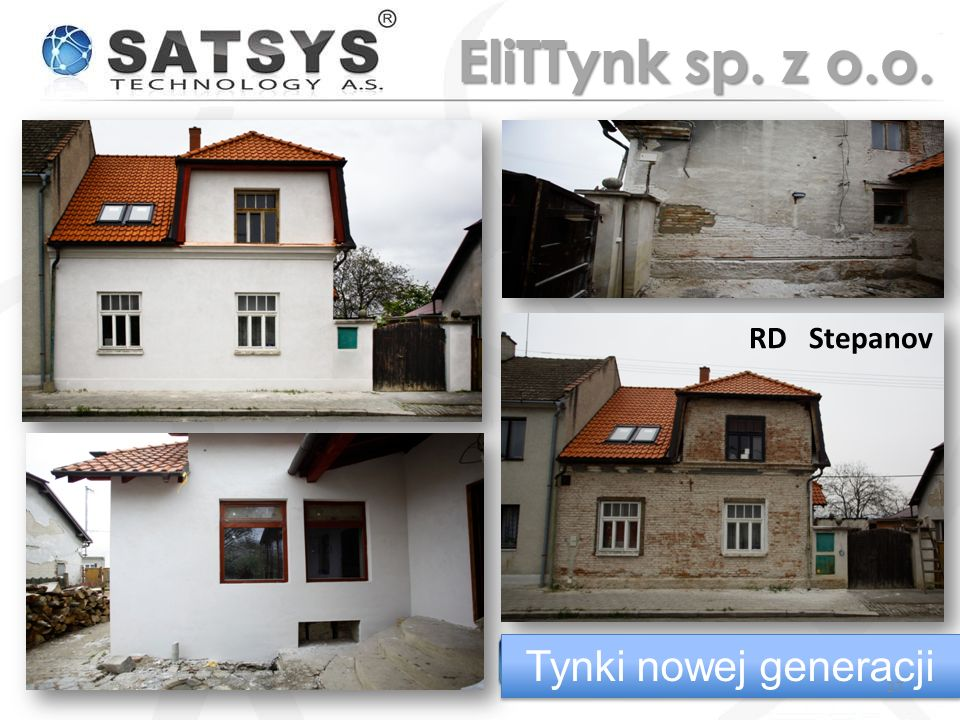 EliTTynk sp. z o.o. RD Stepanov Tynki nowej generacji