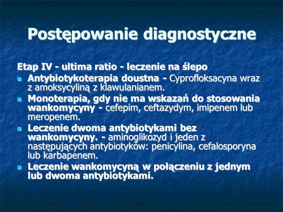 Postępowanie diagnostyczne