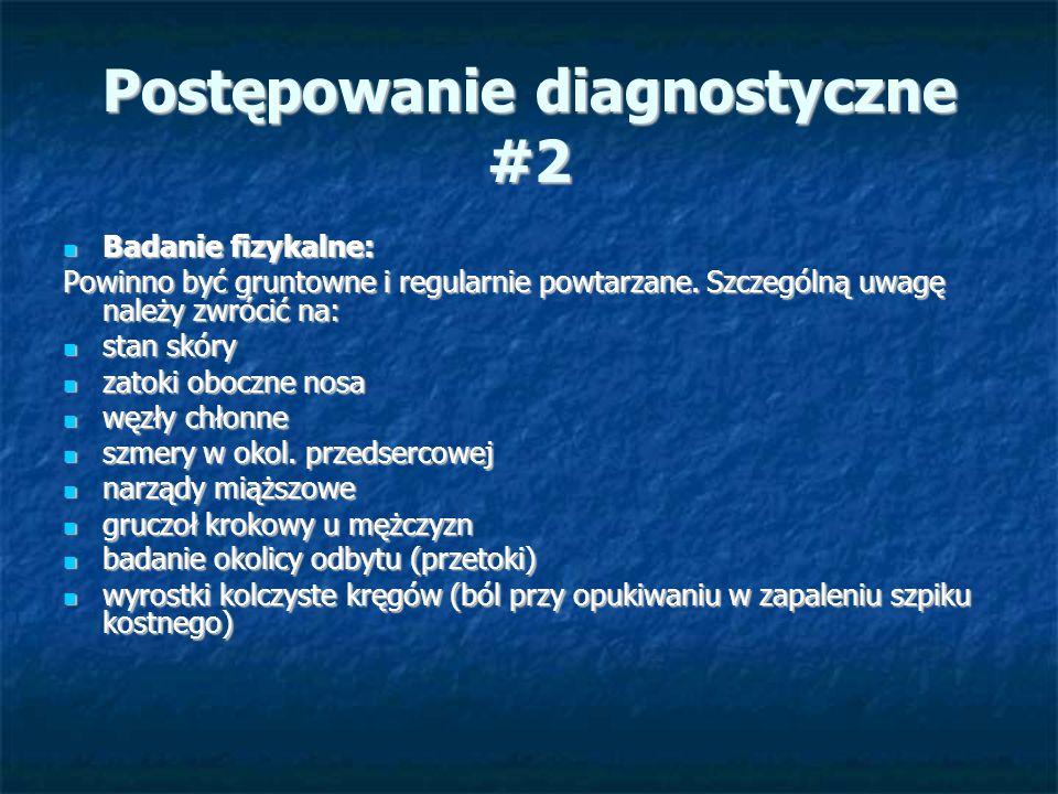 Postępowanie diagnostyczne #2