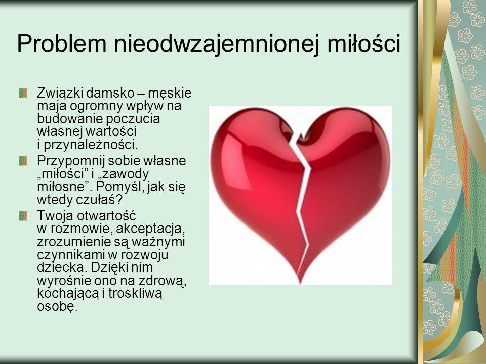 Problem nieodwzajemnionej miłości