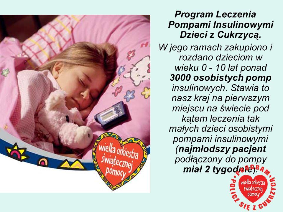 Program Leczenia Pompami Insulinowymi Dzieci z Cukrzycą.