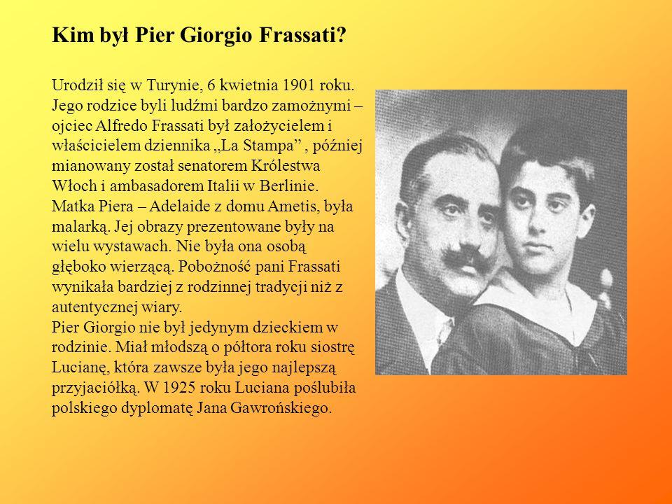 Kim był Pier Giorgio Frassati
