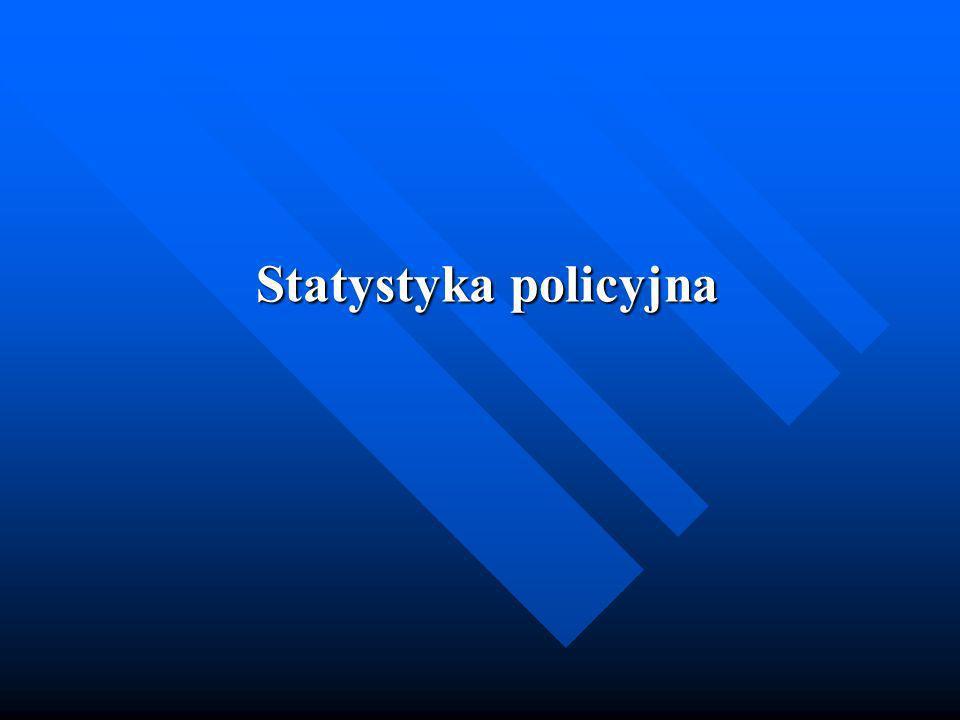 Statystyka policyjna