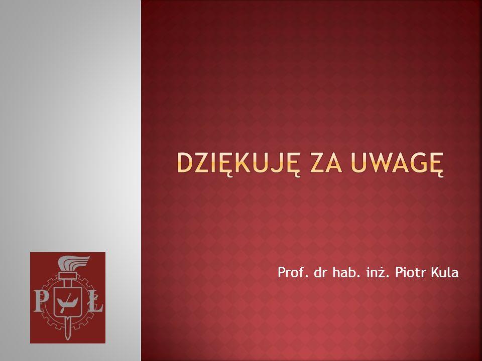 Prof. dr hab. inż. Piotr Kula