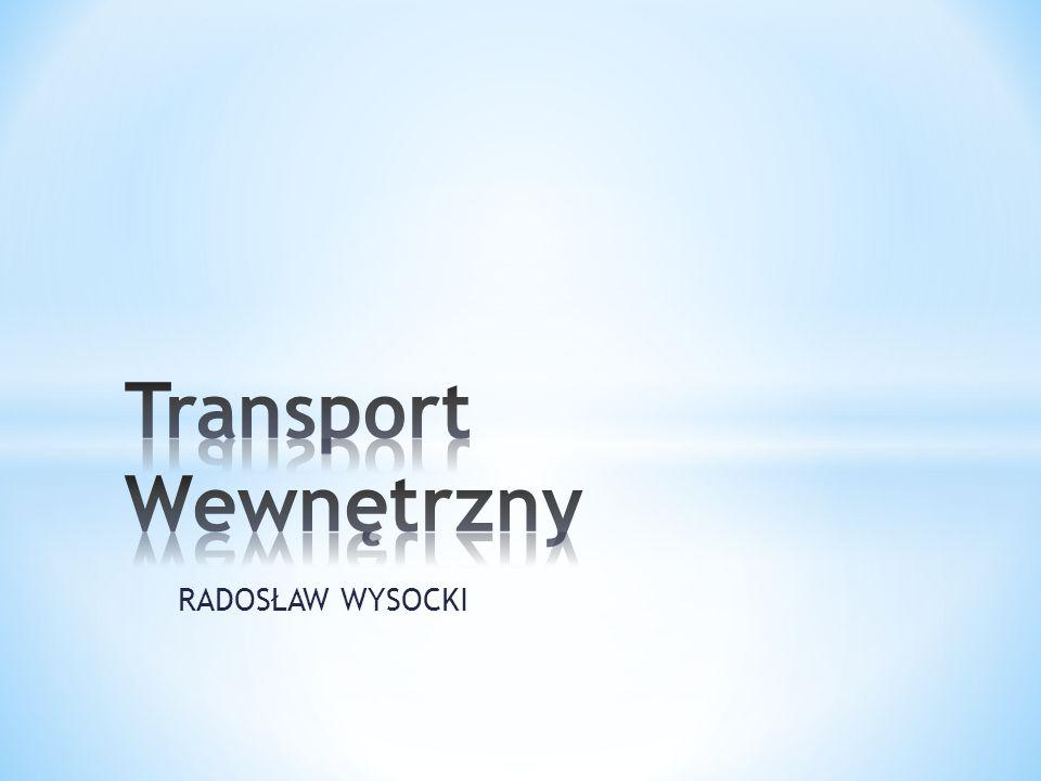 Transport Wewnętrzny RADOSŁAW WYSOCKI