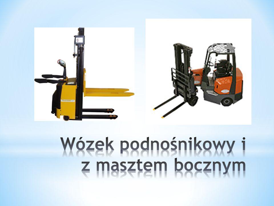 Wózek podnośnikowy i z masztem bocznym