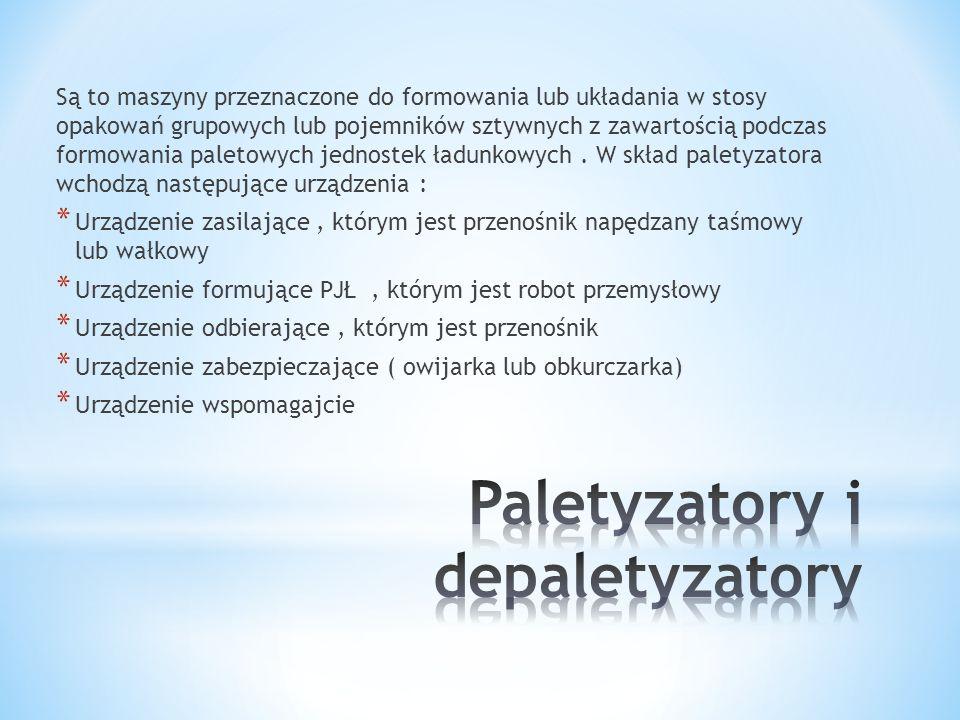 Paletyzatory i depaletyzatory