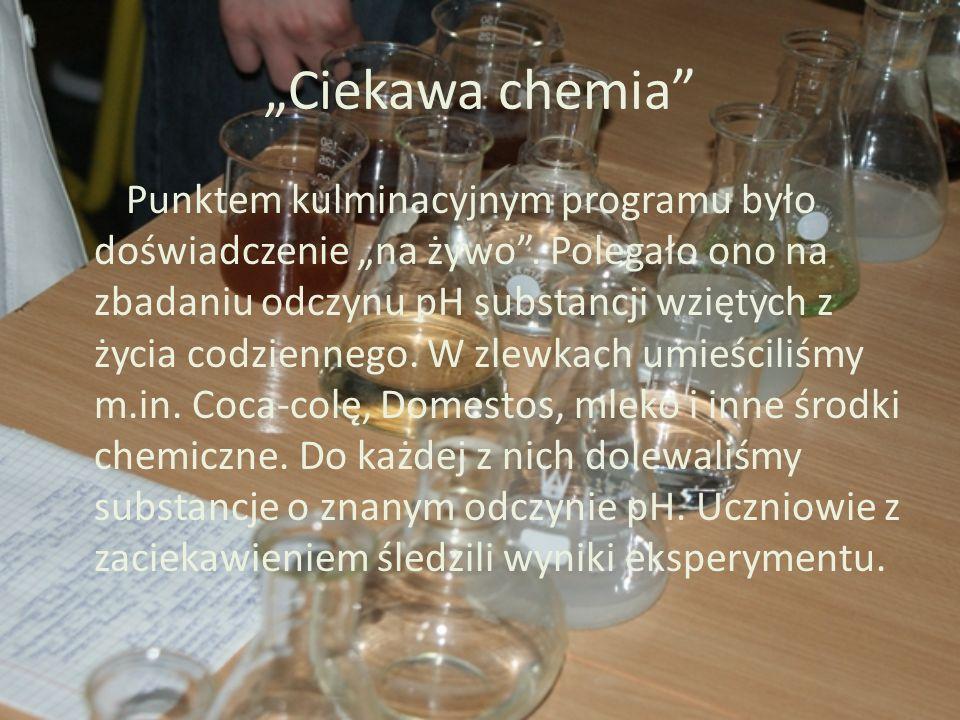 """""""Ciekawa chemia"""