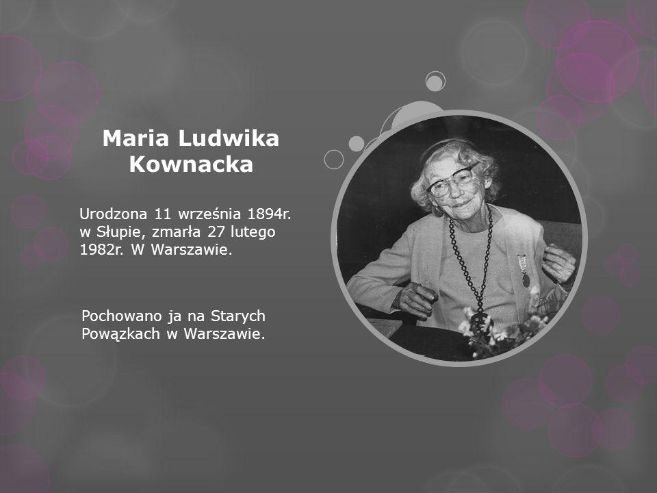 Maria Ludwika Kownacka