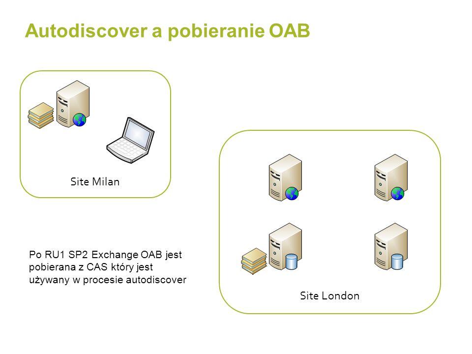 Autodiscover a pobieranie OAB
