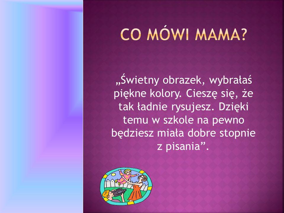 Co mówi mama