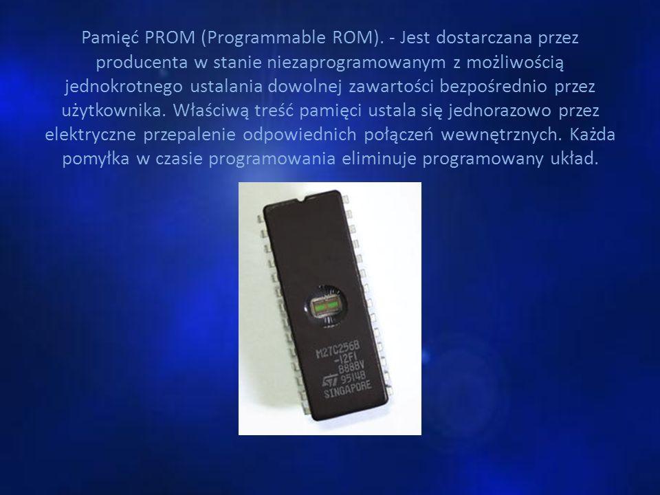 Pamięć PROM (Programmable ROM)