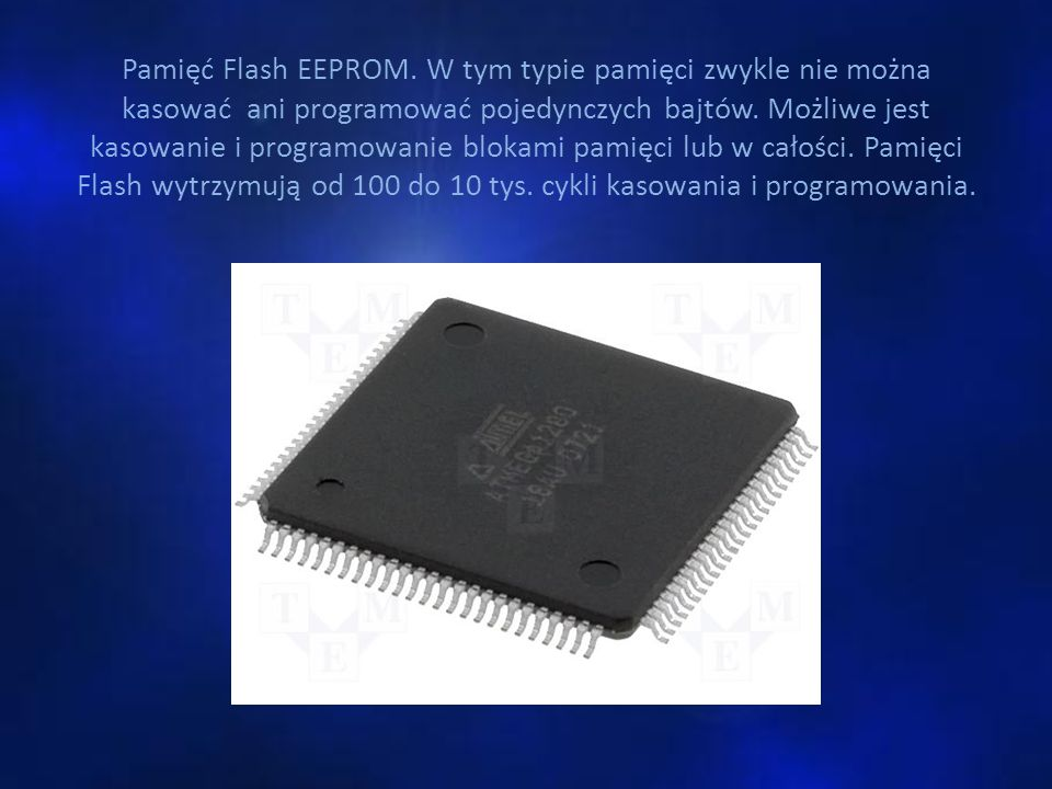 Pamięć Flash EEPROM.