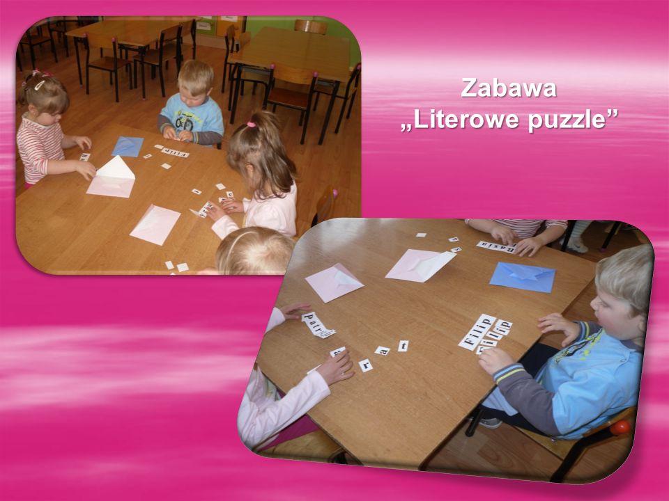 "Zabawa ""Literowe puzzle"